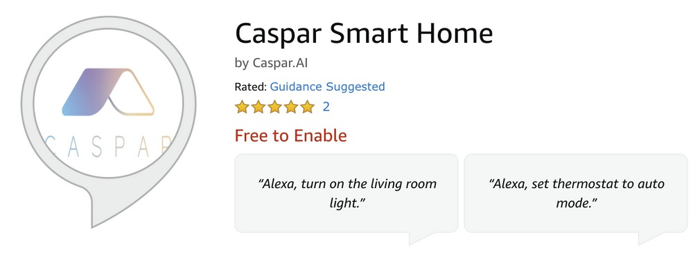 Caspar.AI partners with Alexa to increase comfort and safety at retirement communities